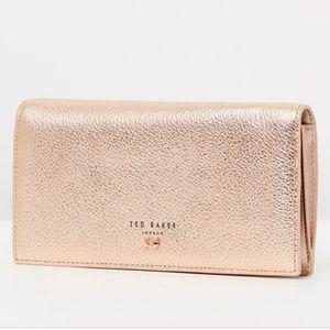 Ted Baker Simoni Wallet in Rose Gold